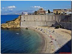 Castellamare del Golfo (supervito) Tags: italia mare barche sole sicilia trapani castellamaredelgolfo pentaxart vitodimodicaphotographer