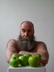 Oscar Wolfman, 2005 04 26, 4153 (billpusztai) Tags: bear man male men beard beards moustache