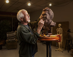 A Sculptor at Work (Zack Ahern) Tags: