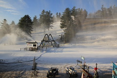 Dec 18, 2011 - Making Snow on Wardance and Chief at Nashoba Valley Ski Area (Nashoba Valley Ski Area) Tags: park winter terrain snow ski open ride trails racing resort tricks valley snowboard rails making jumps lessons jibs lifts nashoba