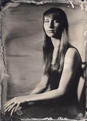 Agata (Maciek Lesniak) Tags: portrait woman wet female zeiss large plate format tessar collodion 13x18 globica
