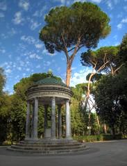 IMG_5071_70_69_tonemapped (xsalto) Tags: italy rome temple villa hdr italie borghese hdrcreativeshots
