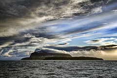 Nlsoy (Jannis Srensen) Tags: ocean blue sea sky snow clouds islands waves faroeislands faroe froyar nlsoy