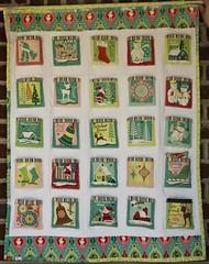 Christmas Advent Calendar (Pitter Putter Stitch) Tags: christmas advent calendar
