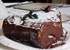 Chocolate Log for Christmas