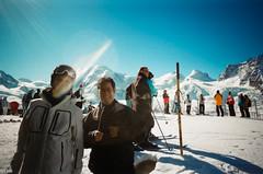 Bench Camera n2 - Shot 7 (Loz) Tags: camera blue winter sky white mountain snow black ski bench switzerland country gornergrat zermatt castor disposable pollux breithorn 2011 liskamm lyskamm benchcamera
