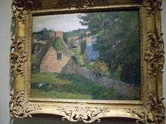 Paul Gauguin: The Field of Derout=Lollichon (1886)-