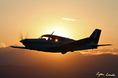 Piper Comanche Silhouette (Champion Air Photos) Tags: piper airtoair comanche