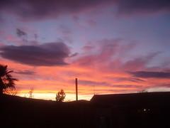 Sunset, Christmas Day 2011