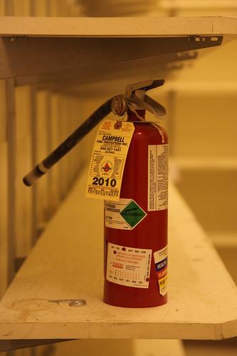 Fire extinguisher macro