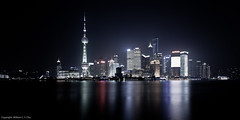 Pudong, Shanghai, China (William C. Y. Chu) Tags: night cityscape shanghai  pudong