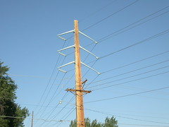 Double circuit power line [Explored] (NDLineGeek) Tags: