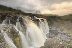 Scotland waterfall (Nicolas Valentin) Tags: uk winter snow nature water landscape scotland waterfall scenery hill h2o ecosse