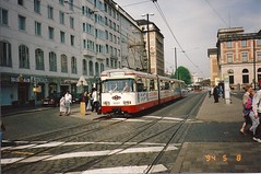 Bremen BSAG - 1994 (2) (Bou46) Tags: germany deutschland trolley tram bremen streetcar tramway strassenbahn bsag