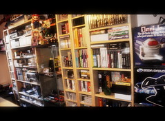 Partial view of the private museum (Greek.Retro.Gamer (GRG)) Tags: museum private room retro collection greece videogames