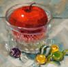 Candied-Apple (Nancy Parsons) Tags: apple candyjar hardcandy