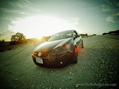 (sabroso10) Tags: road street sunset sky car vw volkswagen texas afternoon dusk tx hero hd gti backroads killeen gopro