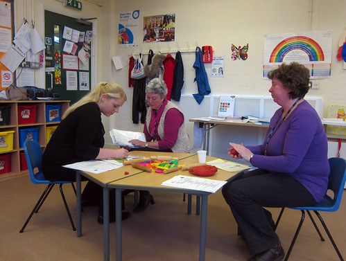 Working in the creche by Hull Adult Education