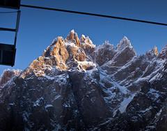 Nature and the Machine (ewahrlich) Tags: sky mountain france landscape europe cable cablecar chamonix aiguilledumidi tlphriquedelaiguilledumidi