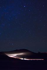 Haleakala (kumuaka) Tags: park boy nature car night canon landscape star hawaii nationalpark maui galaxy haleakala 20mm dslr ze voigtlander eos5dm2 colorskopar20mmf35