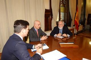 Reunión con el Ministro de Agricultura, Alimentación y Medio Ambiente