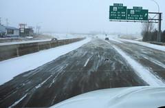 snow (Ruin Raider) Tags: winter snow minnesota rochester freeway hiway us52