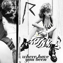 Rihanna - Where Have You Been (MrNorthWes) Tags: music graphics single albumcover singlecover wherehaveyoubeen talkthattalk