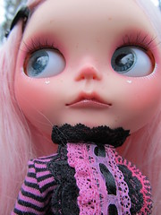 Those Lips (Lawdeda ❤) Tags: b winter alpaca beautiful by wednesday wonder j outfit her pip loves blythe custom missed rbl reroot jenink