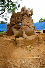 Sand Sculpting (Halans) Tags: australia nsw windsor hawksbury mysticalcreatures sandsculpting
