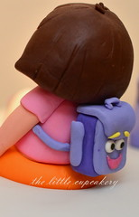 Dora's Backpack (TheLittleCupcakery) Tags: little explorer dora superheroes tlc cupcakery klairescupcakes