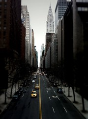 Dark canyon (yammay) Tags: nyc overcast chryslerbuilding iphone tudorcity illbebackformanhattanhenge