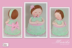 Manika Cakes by The Little Cupcakery (Klaire with a Cake) Tags: birthday cakes cake by doll little baptism christening tlc cupcakery manika klairescupcakes