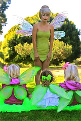 Tinkerbell Classic (trueenchantment) Tags: rescue lost flying costume treasure bell tinkerbell disney event fairy fantasy convention characters wigs fairies rosetta tinker terence d23 silvermist iridessa