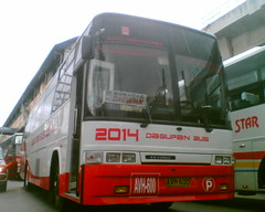 Dagupan Bus Co. Inc. 2014 (Bus Ticket Collector XIV; Cuida ) Tags: bus pub philippines dbci eurobus dmmc dagupanbuscoinc pbpa pilipinashino provincialoperation edsabalintawak philippinebusphotographersassociation