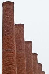 smokestacks (cordoc) Tags: brick smokestacks homestead