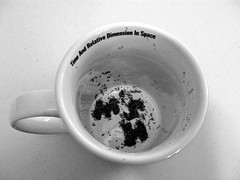 I Wonder What My Future Holds? (Kaptain Kobold) Tags: blackandwhite macro leaves time tea letters s m h future monthlyscavengerhunt mug msh rooibos tealeaves divination kaptainkobold yourfave msh0112 msh011215