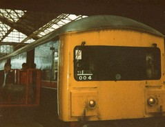 img014 (Dodgey884) Tags: red star diesel rail parcels crewe british express unit tyseley 128 dpu class128 grcw 55994