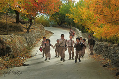 Colors of Life (Iqbal.Khatri) Tags: life street door school autumn pakistan colors self children closed happiness hopes hunza gilgit opendoor colorsoflife schoolboys iqbal taught baltistan khatri northpakistan lifehood