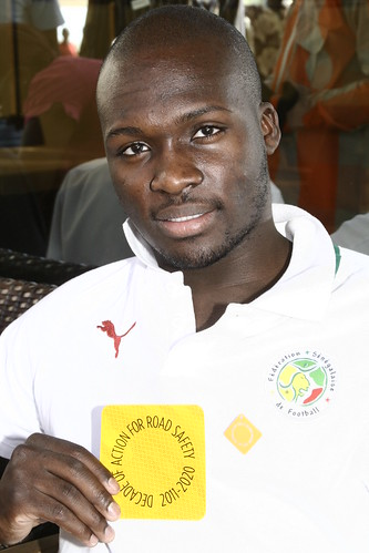 Senegal's football stars support the Decade of Action