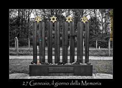 27 Gennaio (1945), il giorno della Memoria (Photographando by Antonio Cuboni) Tags: shoa olanda concentrationcamp vught 2711945 photographando fotocineclub2001 campocencentramento