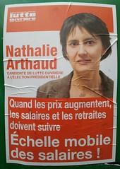 chelle mobile des salaires ! (bis) (emmanuelsaussieraffiches) Tags: poster political politique affiche lutteouvrire