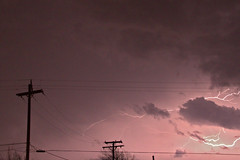 front row seat (riot jane) Tags: sky storm weather clouds purple michigan lightning tornados maybeemi