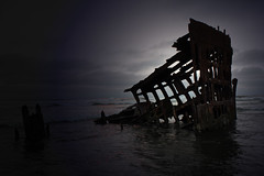 Peter Iredale (marydenise6) Tags: ocean sea beach oregon coast sand ship peter shipwreck peteriredale iredale