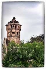 Lotus Mahal Watch Tower from the Elephant Stables (siddharthx) Tags: architecture ruins hampi watchtower guardhouse lotusmahal krishnadevaraya royalenclosure vijayanagara elephantstables worldtrekker devarayaii mainstable