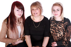 Stacie, Angela and Amy (JonCoupland) Tags: road uk family girls white black colour smile boston portraits photography jon funny pretty daughter lincolnshire mum lincoln priory coupland fishtoft