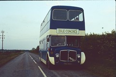 FAU 388C: Bannister, t/a Isle Cs, Owston Ferry (chucklebuster) Tags: nottingham isle coaches bannister aec renown fau388c