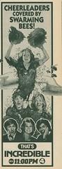 That's Incredi-- ZOMG beeees!!! (TheDamnMushroom) Tags: 1983 tvguide thatsincredible