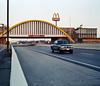 . (JHamel) Tags: winter sunset film oklahoma mediumformat highway reststop mcdonalds turnpike fujigw670ii greatamericansouthwesternroadtrip phoenixorbust