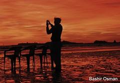 LET'S SNAP (Bashir Osman) Tags: pakistan sunset beach night clouds strand evening photo seaside tramonto shadows sonnenuntergang dusk playa karachi plage spiaggia sindh paquisto puestadelsol gnbatm  coucherdusoleil     bashir  plaj     travelpakistan  pakistn occasum sononder  litore    gettyimagespakistanq12012 bashirosman gettyimagesmiddleeast      aboutpakistan aboutkarachi travelkarachi   pakistna pakistanas