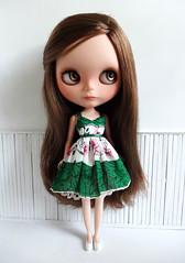 Green dress  ♥